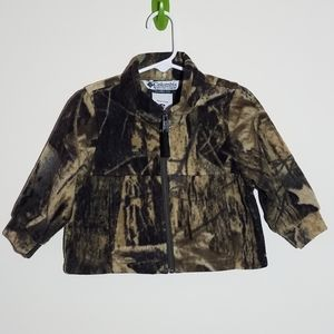 Columbia Fleece Camouflage Jacket Coat 18m